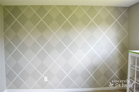 painted walls argyle painted wall sincerely sara d