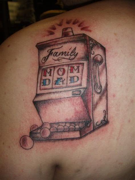 slot machine tattoo family slot machine by jon poulson a photo on