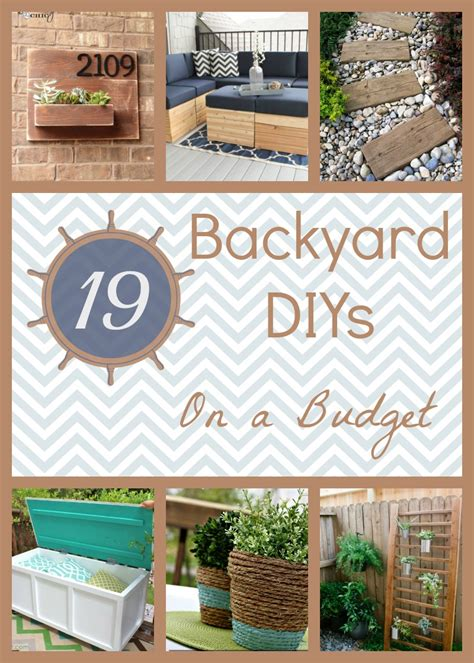 cheap backyard projects 19 backyard diy spruce ups on a budget how does she