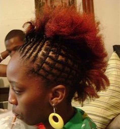 new and different side mohawks with weave black girls hairstyles for school
