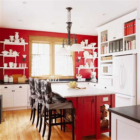 kitchen cabinets red and white red kitchen design ideas kitchen in red country