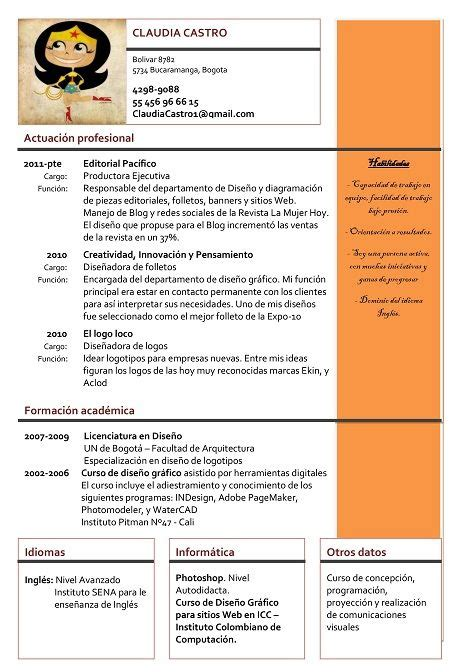 Modelo Y Ejemplo De Curriculum Vitae 17 Mejores Ideas Sobre Ejemplos Curriculum Vitae En Ejemplos De Curriculum Vitae