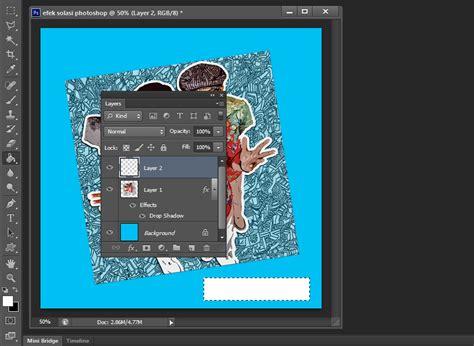 cara membuat garis kotak di photoshop cs6 cara mudah membuat taped effect atau efek solasi di