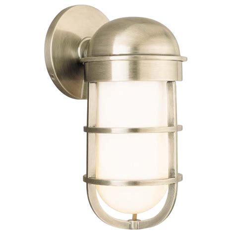 nautical bathroom sconces nautical single light sconce 3001 an destination lighting
