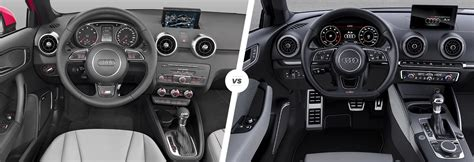 audi a1 sport interior audi a1 vs a3 side by side comparison carwow