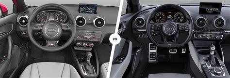 audi a3 vs a1 audi a1 vs a3 side by side comparison carwow