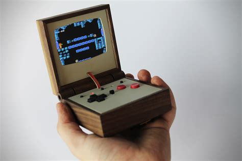 handheld mame console handheld nintendo emulator system by hulten