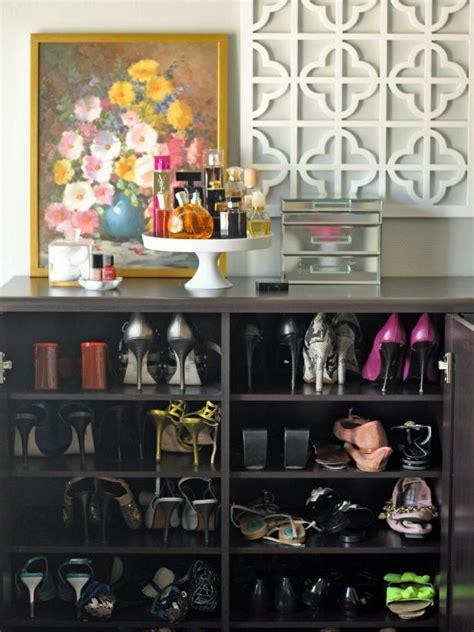 shoe organizer ideas hgtv