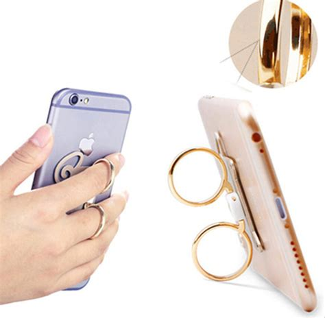 Iring Mobile Phone Ringstand Polos newest dual ring sheep shape i ring holder hook mobile phone stand holder mount holder