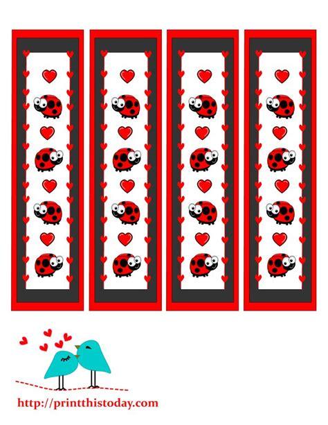 printable ladybug bookmarks 553 best images about ladybug theme on pinterest