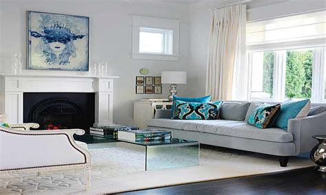 blue grey room ideas grey and blue modern living room