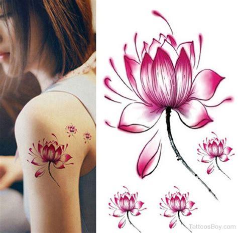 lotus flower images tattoos pink lotus flower designs pictures