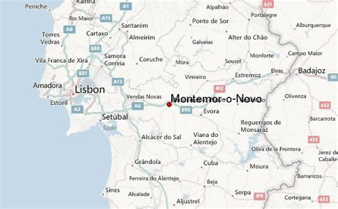map o montemor o novo location guide
