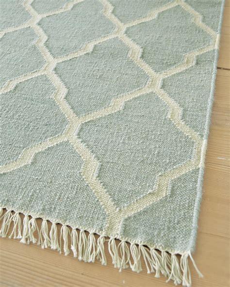 vossberg teppiche teppich helles blau