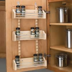 Cabinet Door Rack 18 Quot Door Storage Adjustable Spice Rack