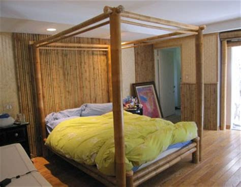 exceptional quality and style of bamboo bedroom furniture quality bamboo and asian thatch 4 poster bed canopy bed