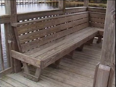 boat dock benches dock bench a dock bench firepit seating pinterest