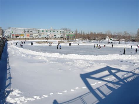 how to make a ice skating rink in your backyard file ice skating rink jpg wikimedia commons