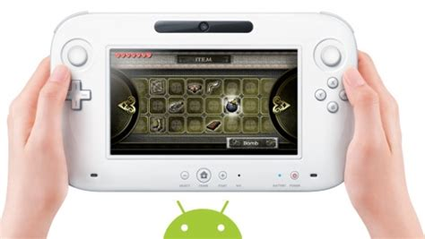 wii for android wii u with android tipped for launch slashgear