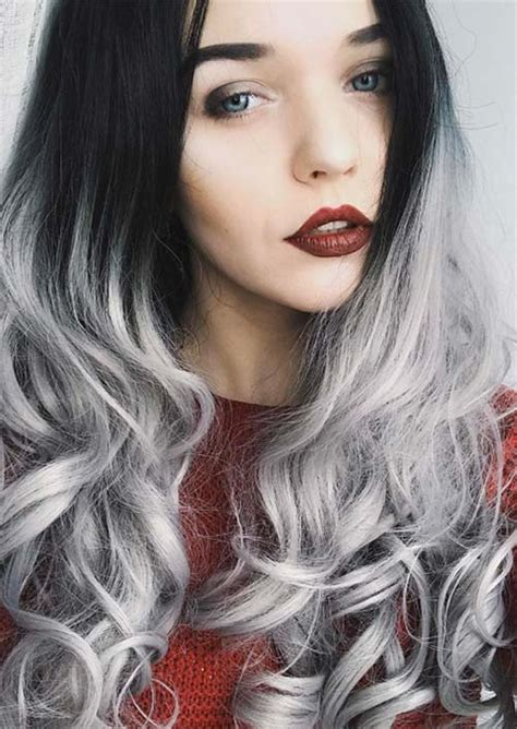 hair color for grey hair silver hair trend 51 cool grey hair colors tips for
