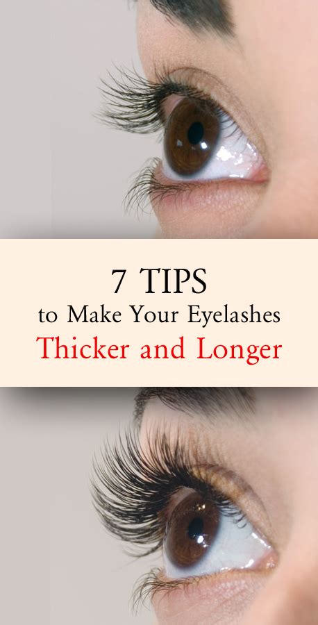 7 Best Products For Longer Lashes 7 tips to make your eyelashes thicker and longer remedy