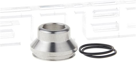 Wide Bore Drip Tip Black 316 Stainless Steel For 24mm Rda 24 Mm 3 01 stainless steel wide bore drip tip for 24mm