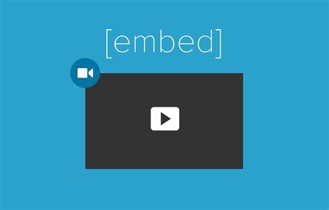 wordpress tutorial embed youtube video embed videos