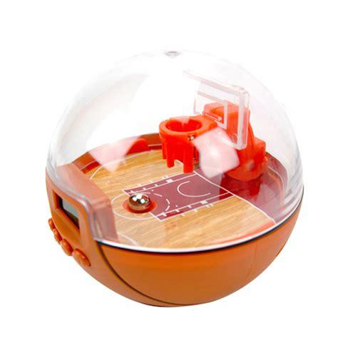 innovative basketball alarm clock mini sport game lcd digital clock