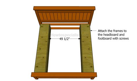 How To Build A Bed Frame With Drawers How To Build A Bed Frame With Drawers Howtospecialist How To Build Step By Step Diy Plans