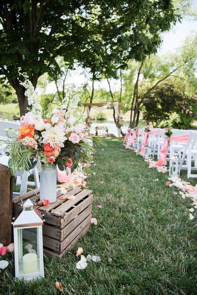 1000 ideas about coral country weddings on wedding themes colors for weddings