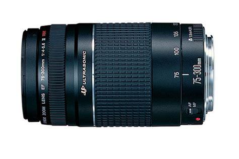 Lensa Canon 75 300mm Terbaru ef 75 300mm f 4 5 6 iii
