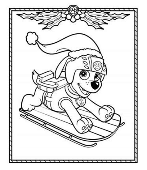 christmas coloring pages paw patrol paw patrol holiday coloring pack coloring love this and