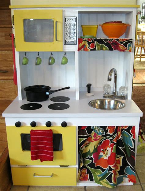 diy play kitchen ideas diy play kitchen tutorial peek a boo pages patterns fabric more