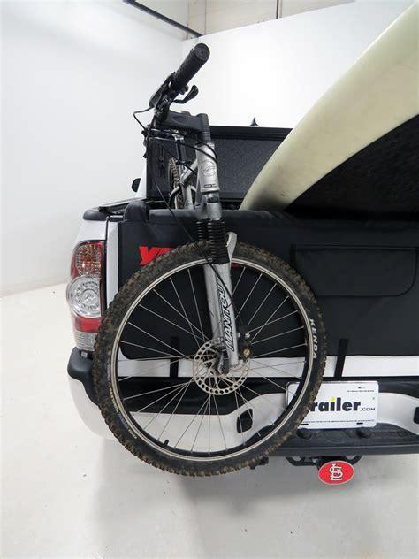 Yakima Truck Bike Rack by Yakima Crashpad Tailgate Pad And Bike Carrier For Compact