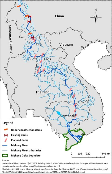 mekong river map damming the mekong river another exle of ea failure in the transnational context