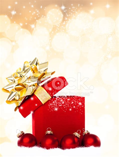 christmas images magical christmas gift background stock photos