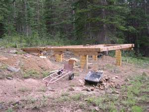 small cabin foundation ideas cottage house plans