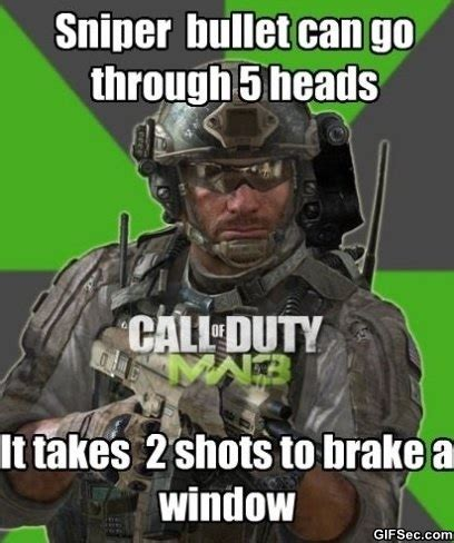 Funny Call Of Duty Memes - if call of duty was real funny meme and funny gif from