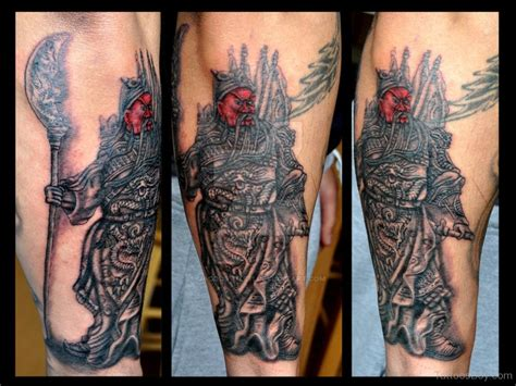chinese warrior tattoo warrior www pixshark images
