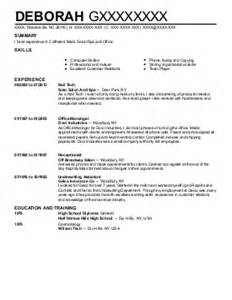 Manicurist Resume by Manicurists Resume Exles And Spa Resumes Livecareer