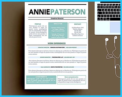 Artistic Resume by Custom And Unique Artistic Resume Templates For Creative Work