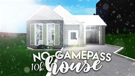 bloxburg  modern house  gamepass modern house