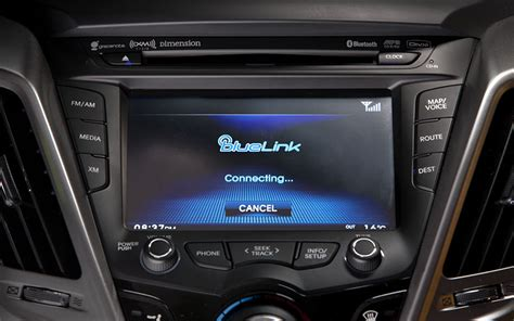 hyundai blue link telematics system hyundai s blue link telematics will get support from