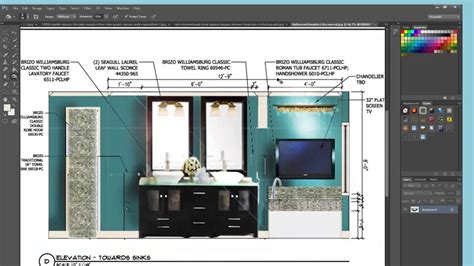 interior design layout photoshop photoshop advanced using photoshop to produce a rendered