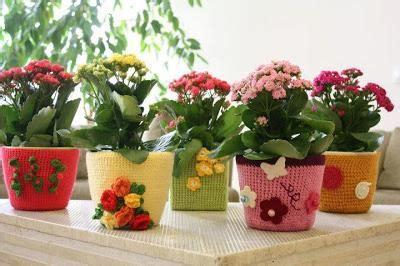 flores vasos de plastico de cafe papel macetas manualidades dia de la decorar macetas con ganchillo paperblog