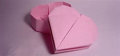 Fold Paper Into A Box - how to fold a shaped box for s day