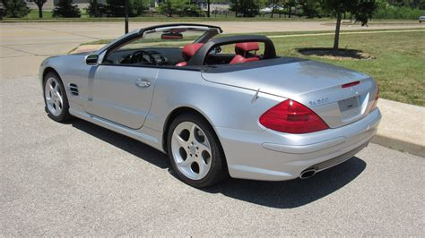 convertible mercedes 2004 2004 mercedes sl500 convertible one owner with 17 000