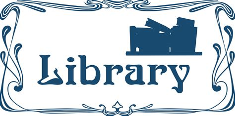 library clipart free library sign cliparts free clip free
