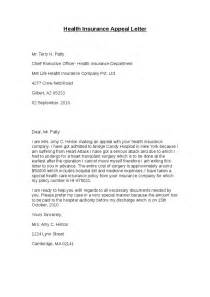 Health Insurance Appeal Letter Template Health Insurance Appeal Letter Hashdoc