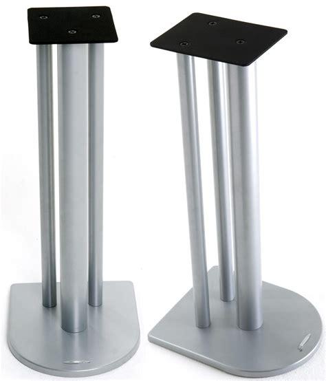Soundbar Tv Stand by Atacama Nexus 6i Silver Speaker Stands